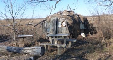 off-grid campsite